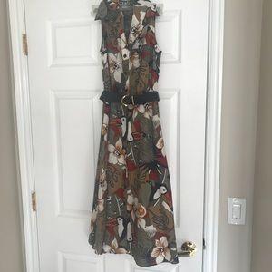 Vintage Shirtdress Tabby Brand Sz 4